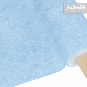 Oilcloth roll in light blue