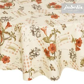 Round tablecloth appropriate size
