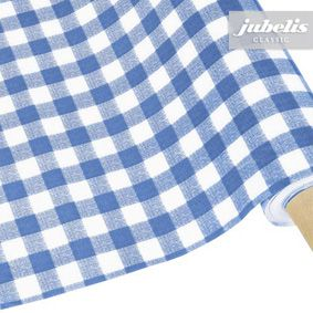 Washable gingham tablecloths sold by the meter