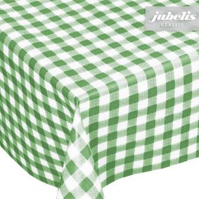 Washable tablecloths in the matching table size